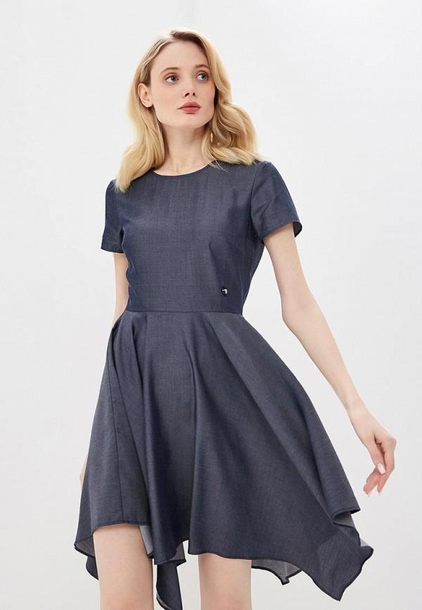 женское повседневные платье trussardi, синее