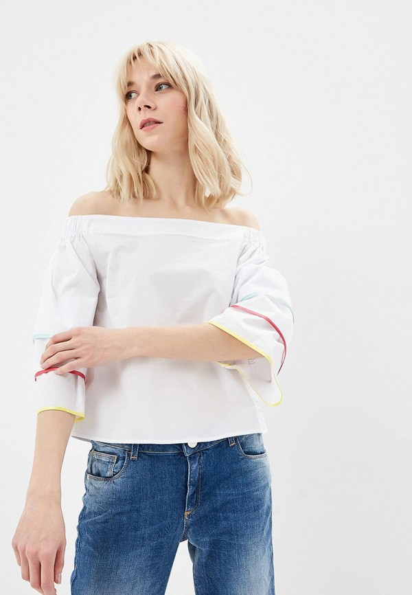 Блуза Trussardi Jeans Trussardi Jeans TR016EWDOCK9 ремень trussardi jeans trussardi jeans tr016dmburh8
