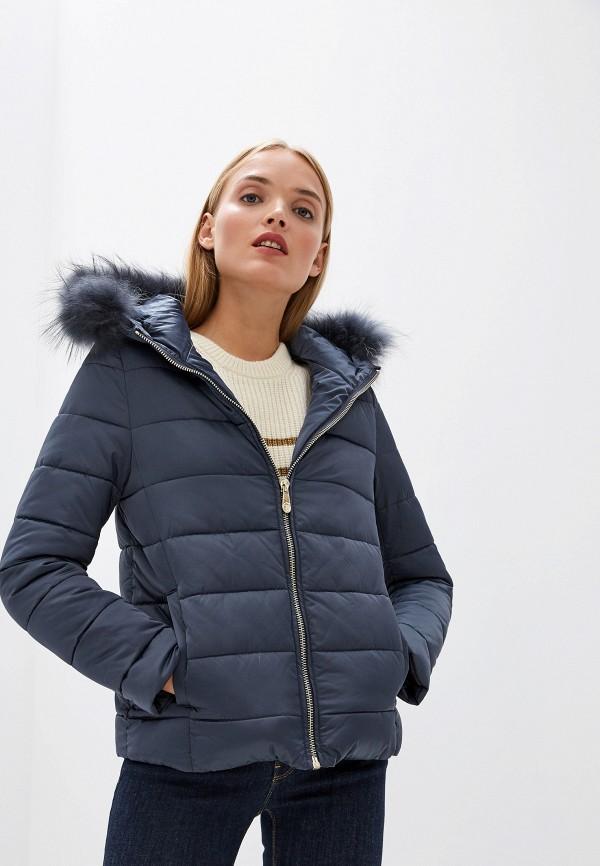 Фото - Куртка утепленная Trussardi Jeans Trussardi Jeans TR016EWFTBS2 куртка женская trussardi цвет темно синий 36s00158 blue night размер l 46 48
