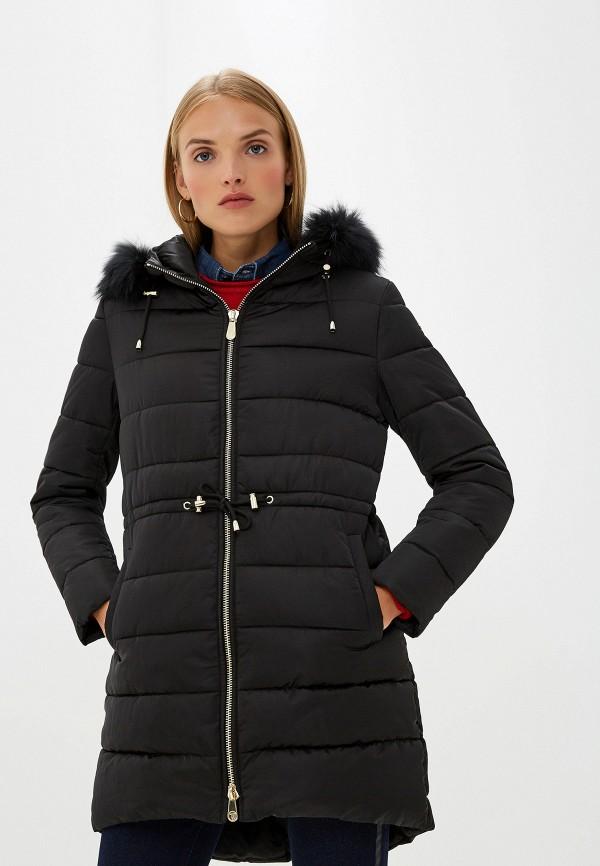 Фото - Куртку утепленная Trussardi Jeans черного цвета