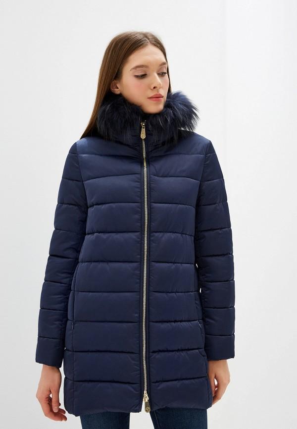 Фото - Куртка утепленная Trussardi Jeans Trussardi Jeans TR016EWFTBS6 куртка женская trussardi цвет темно синий 36s00158 blue night размер l 46 48