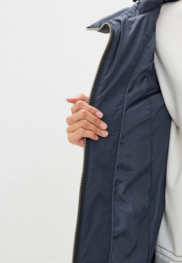 Фото 4 - Куртку утепленная Trussardi Jeans синего цвета
