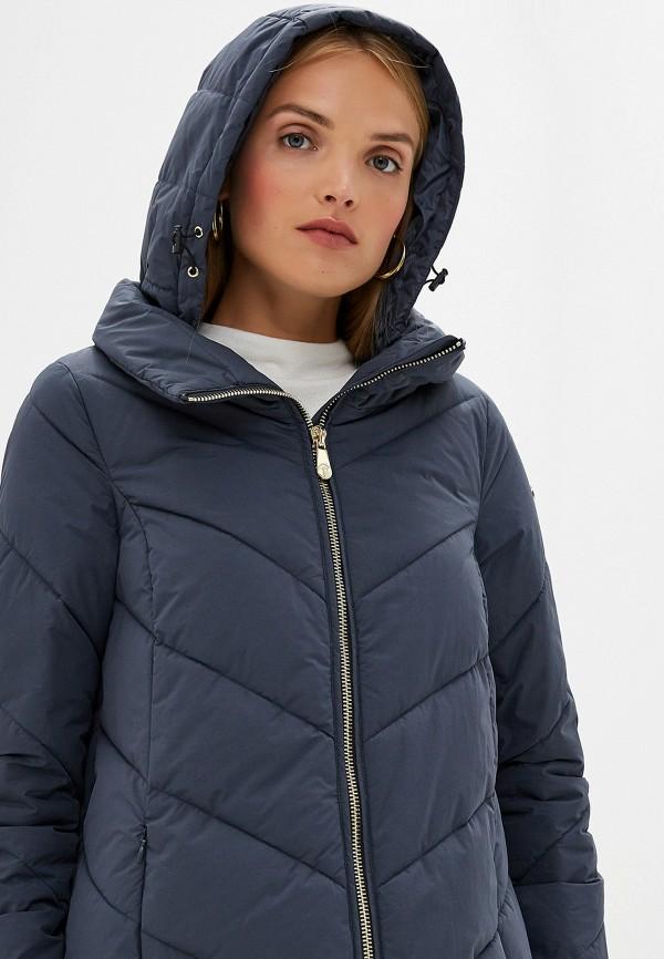 Фото 5 - Куртку утепленная Trussardi Jeans синего цвета