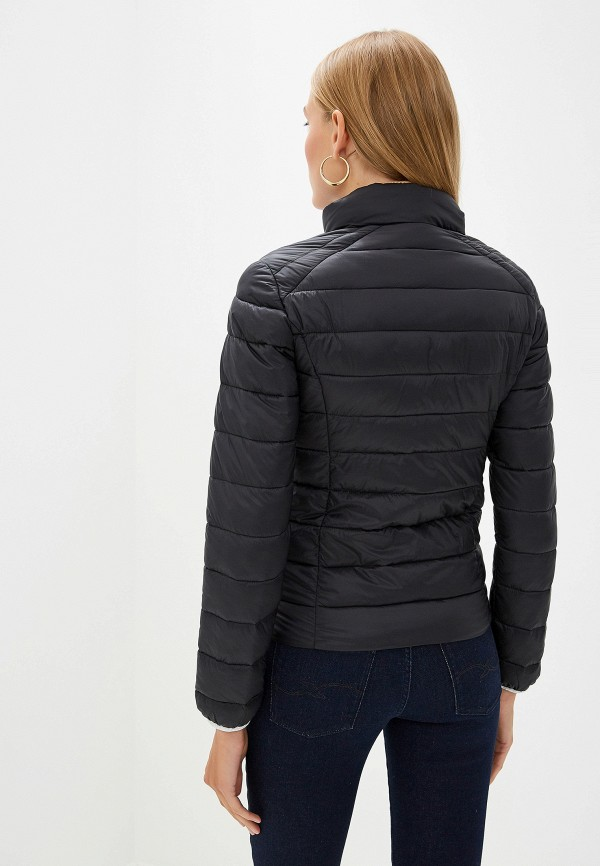 Фото 3 - Куртку утепленная Trussardi Jeans черного цвета