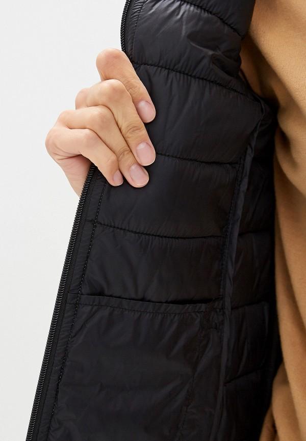 Фото 4 - Куртку утепленная Trussardi Jeans черного цвета