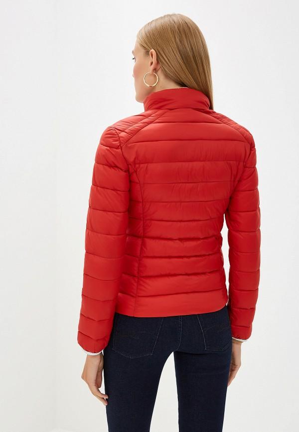 Фото 3 - Куртку утепленная Trussardi Jeans красного цвета