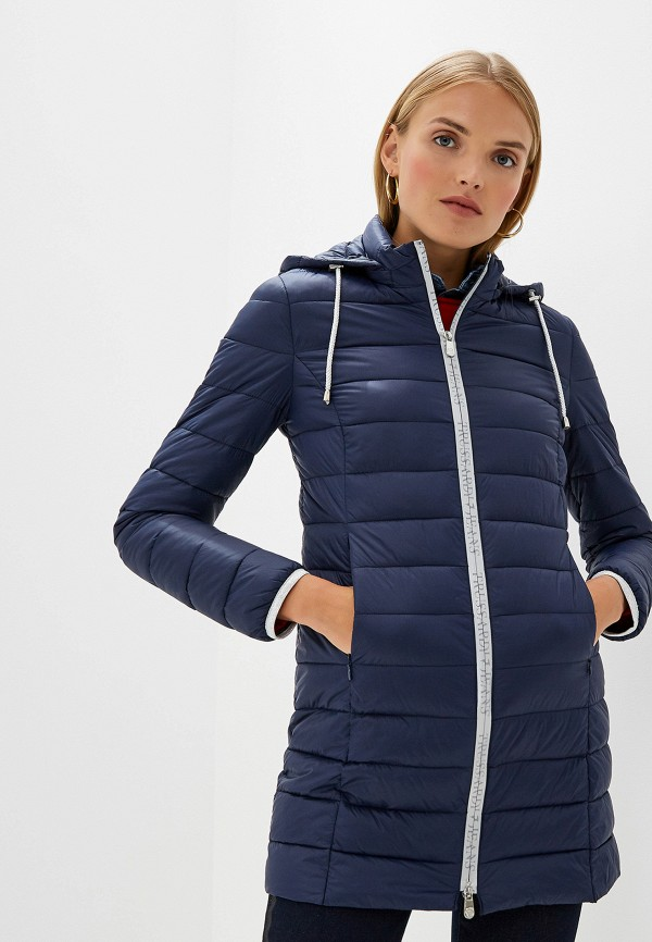 Фото - Куртка утепленная Trussardi Jeans Trussardi Jeans TR016EWFTBT1 куртка женская trussardi цвет темно синий 36s00158 blue night размер l 46 48