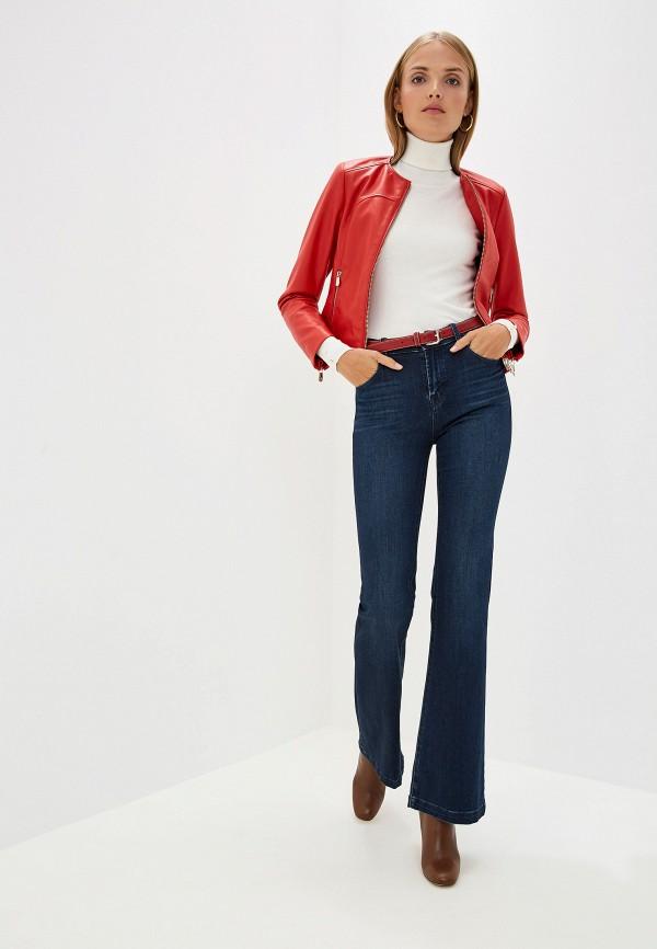 Фото 2 - женскую водолазку Trussardi Jeans белого цвета