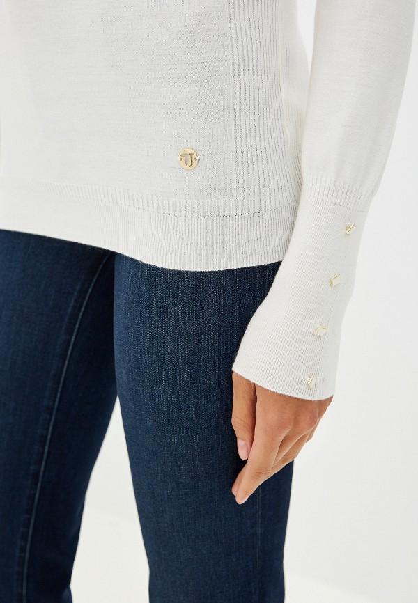 Фото 4 - женскую водолазку Trussardi Jeans белого цвета