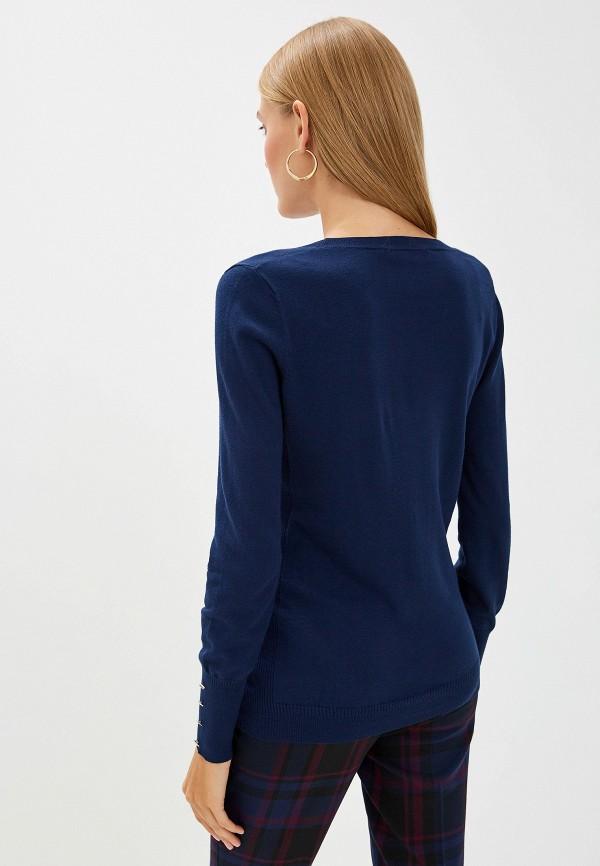 Фото 3 - женский джемпер Trussardi Jeans синего цвета