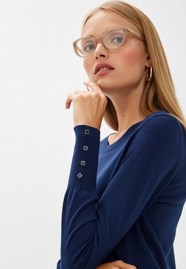 Фото 4 - женский джемпер Trussardi Jeans синего цвета