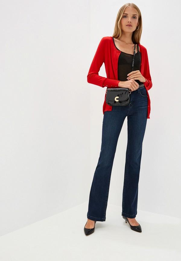 Фото 2 - женский кардиган Trussardi Jeans красного цвета