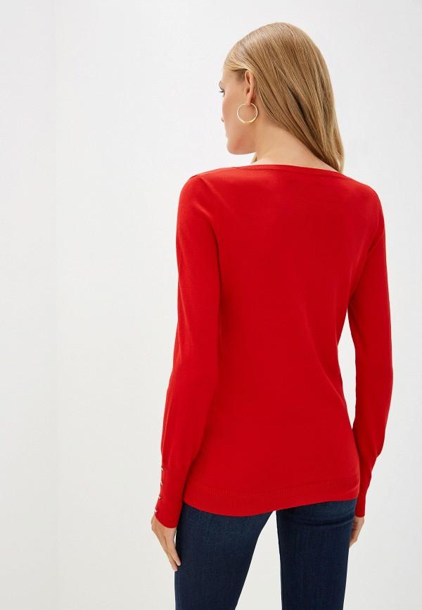 Фото 3 - женский кардиган Trussardi Jeans красного цвета