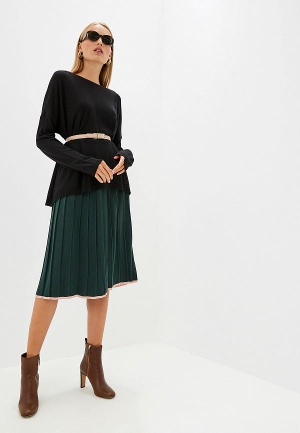 Фото 2 - женский джемпер Trussardi Jeans черного цвета