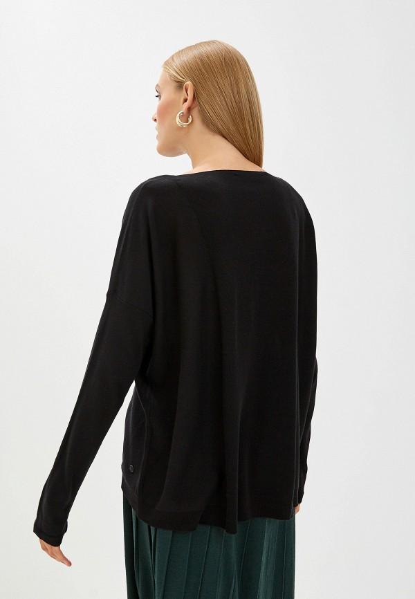 Фото 3 - женский джемпер Trussardi Jeans черного цвета