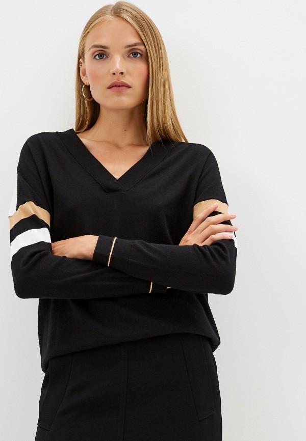 Фото - женский пуловер Trussardi Jeans черного цвета