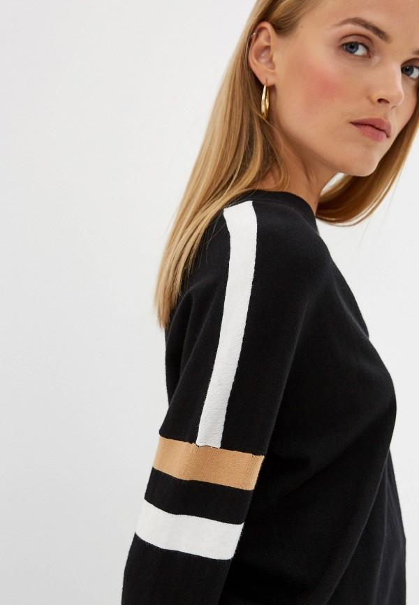 Фото 4 - женский пуловер Trussardi Jeans черного цвета