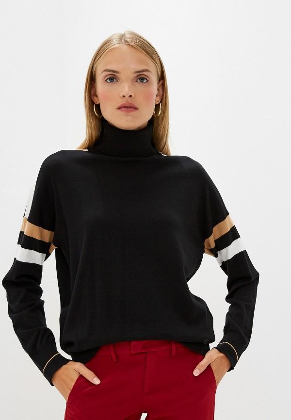 Фото - женскую водолазку Trussardi Jeans черного цвета