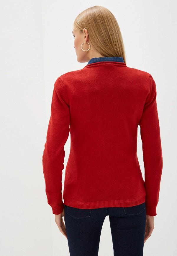 Фото 3 - женский джемпер Trussardi Jeans красного цвета