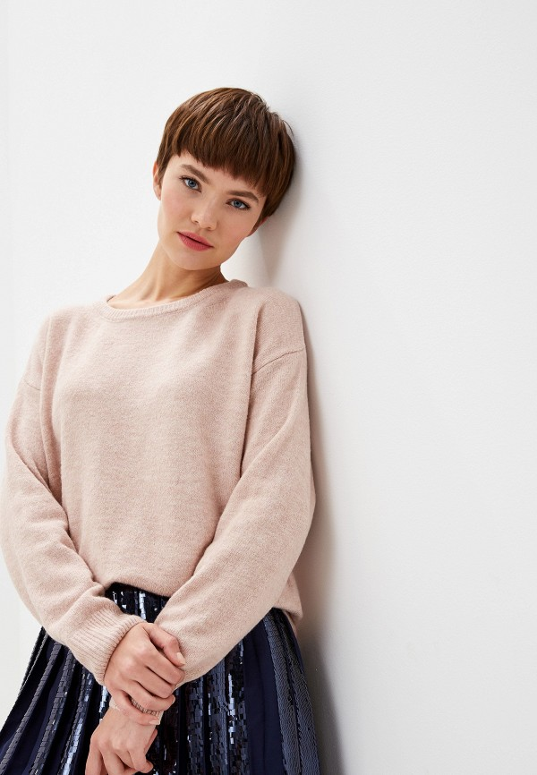 Купить Женский джемпер Trussardi Jeans розового цвета