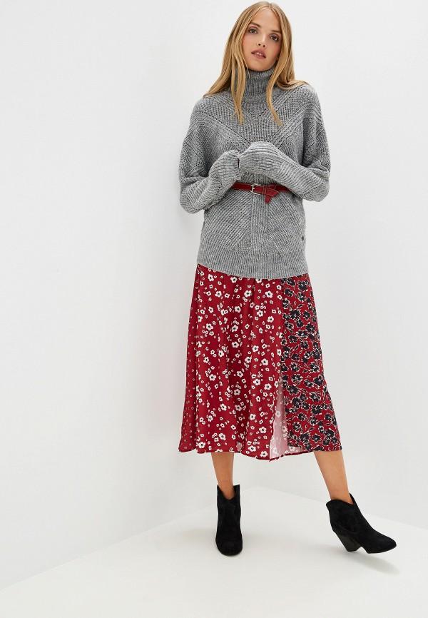Фото 2 - женский свитер Trussardi Jeans серого цвета