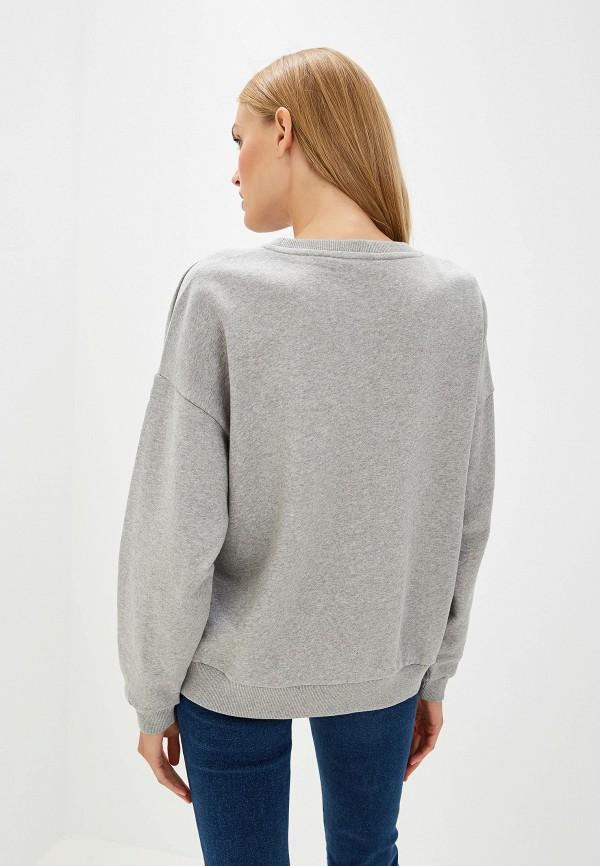 Фото 3 - Свитшот Trussardi Jeans серого цвета