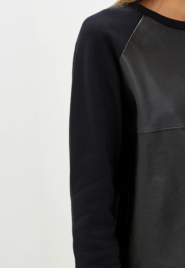 Фото 4 - Свитшот Trussardi Jeans черного цвета
