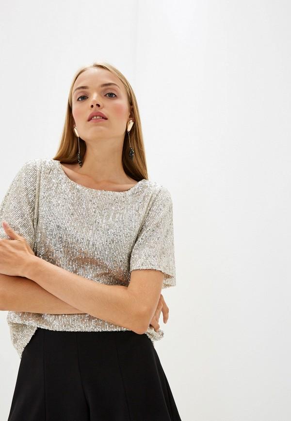 Фото - Блузу Trussardi Jeans золотого цвета