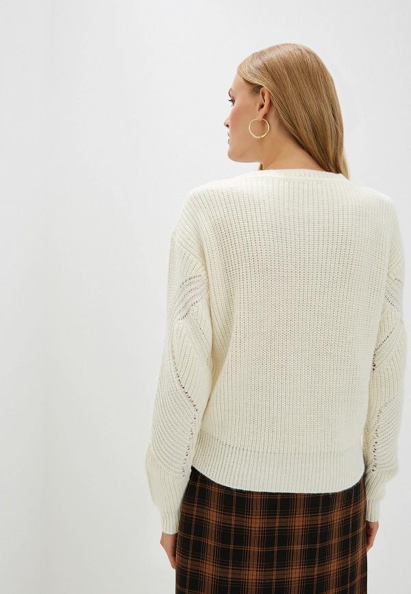 Фото 3 - женский джемпер Trussardi Jeans белого цвета