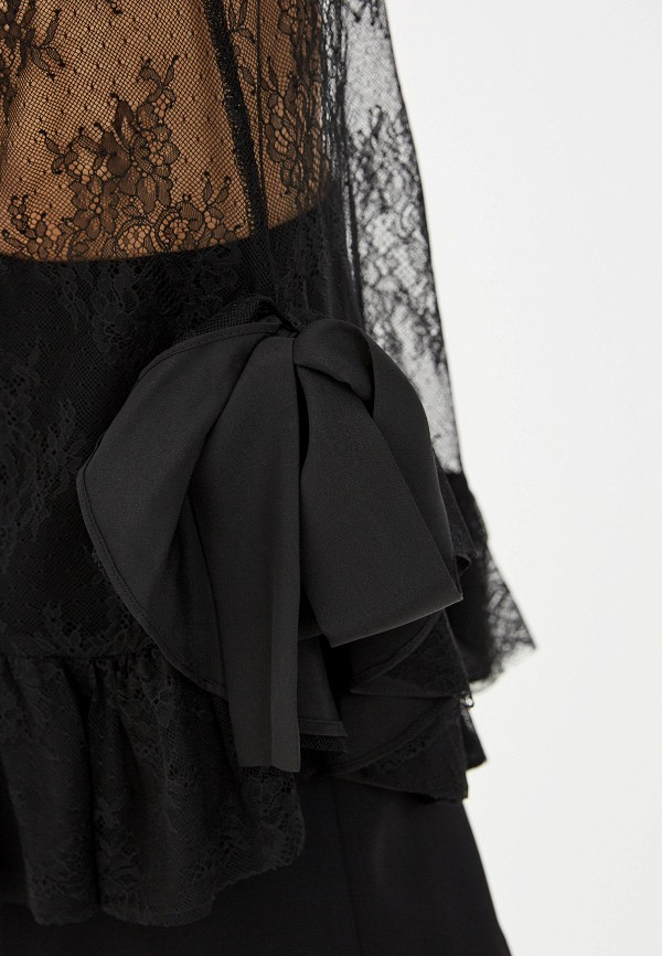 Фото 4 - женский топ Trussardi Jeans черного цвета
