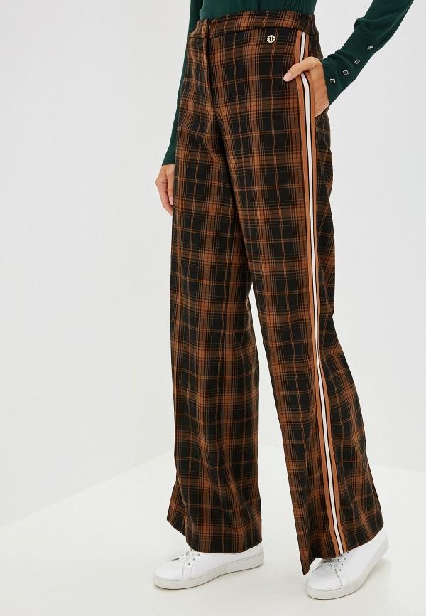 Фото - женские брюки Trussardi Jeans коричневого цвета