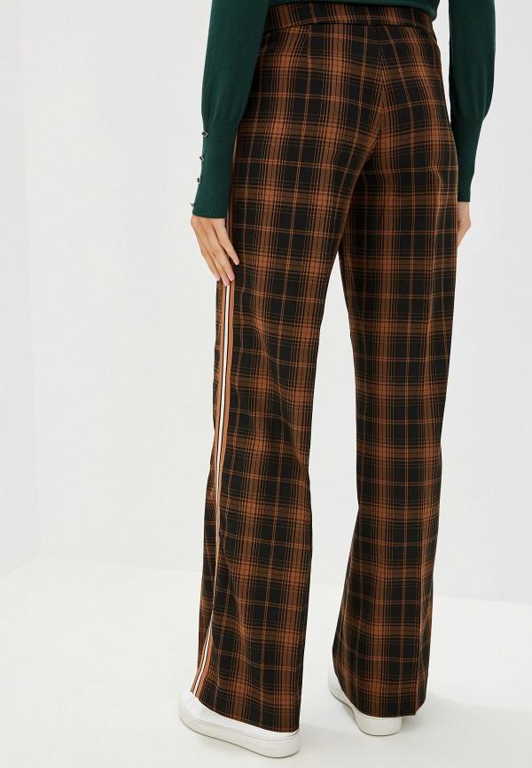 Фото 3 - женские брюки Trussardi Jeans коричневого цвета