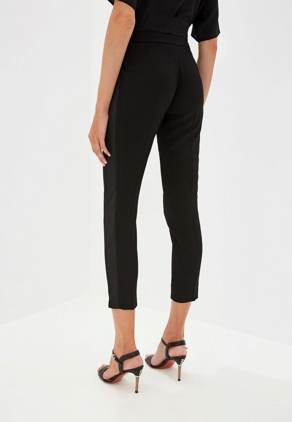 Фото 3 - женские брюки Trussardi Jeans черного цвета