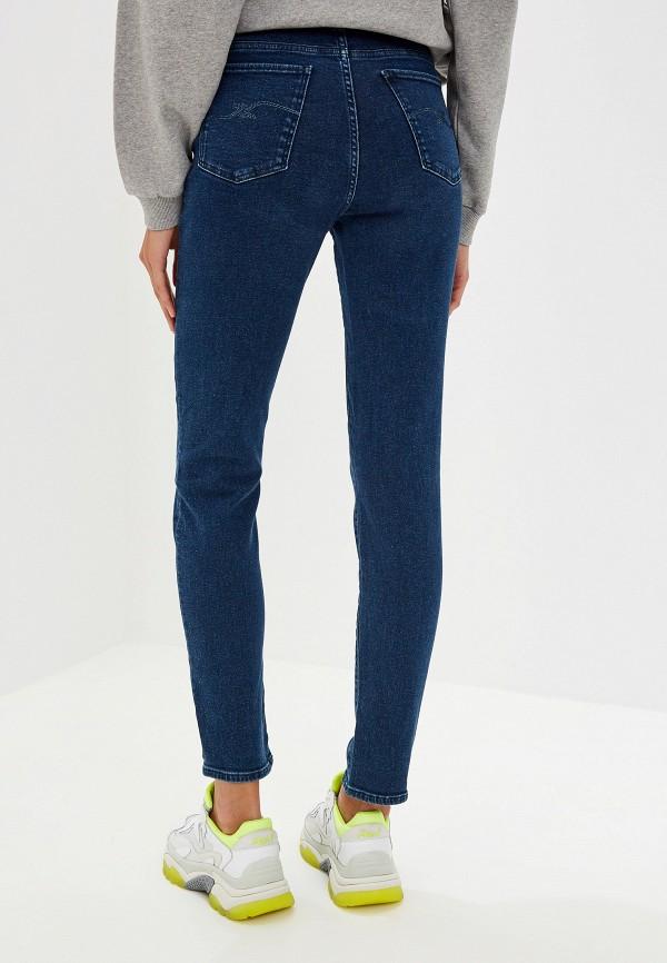 Фото 3 - женские джинсы Trussardi Jeans синего цвета
