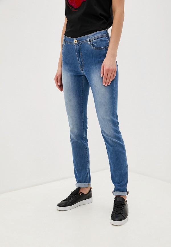 Фото - женские джинсы Trussardi Jeans голубого цвета