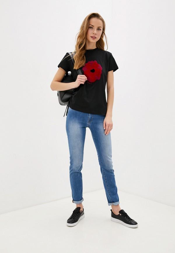 Фото 2 - женские джинсы Trussardi Jeans голубого цвета