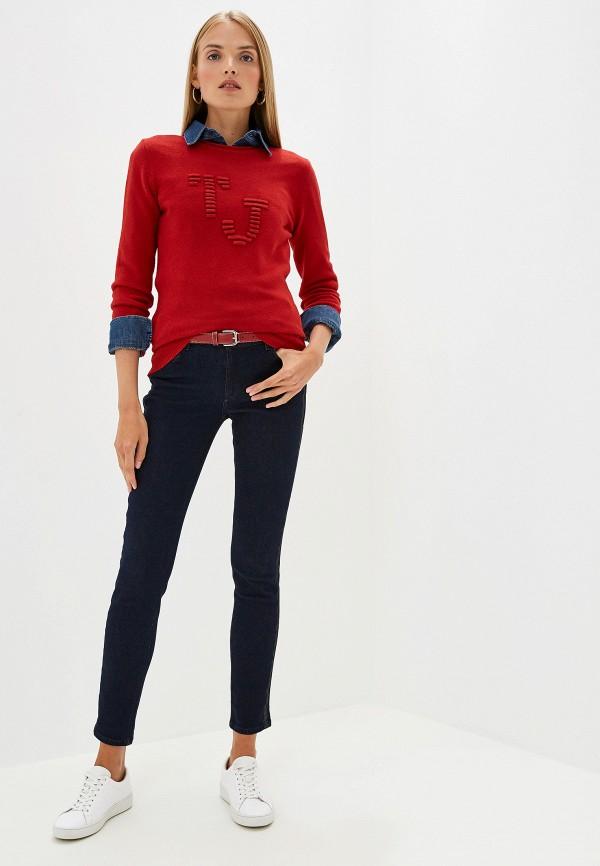 Фото 2 - женские джинсы Trussardi Jeans синего цвета