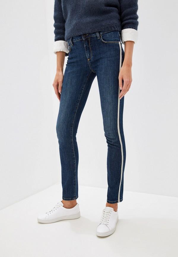 Купить Женские джинсы Trussardi Jeans синего цвета