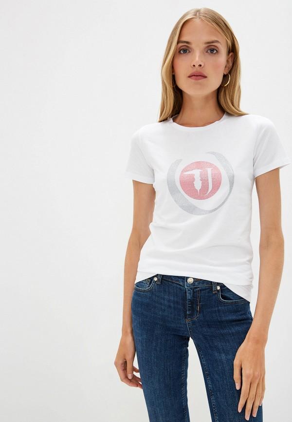 Футболка Trussardi Jeans Trussardi Jeans TR016EWFTCQ5 футболка trussardi jeans trussardi jeans tr016emdocb1