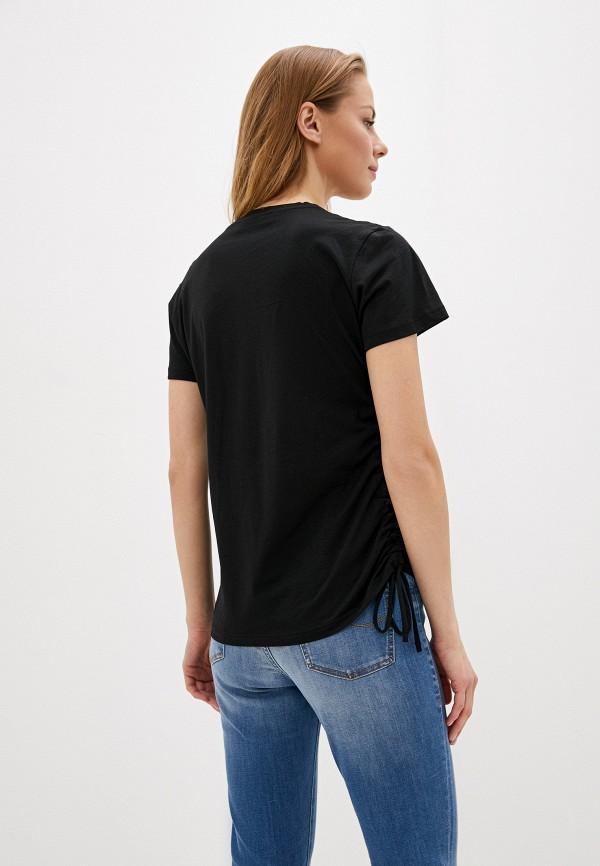 Фото 3 - женскую футболку Trussardi Jeans черного цвета