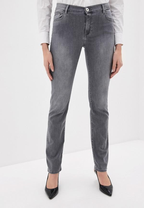 женские джинсы trussardi, серые