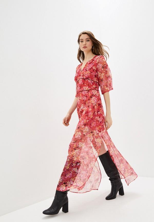 женское повседневные платье trussardi, розовое