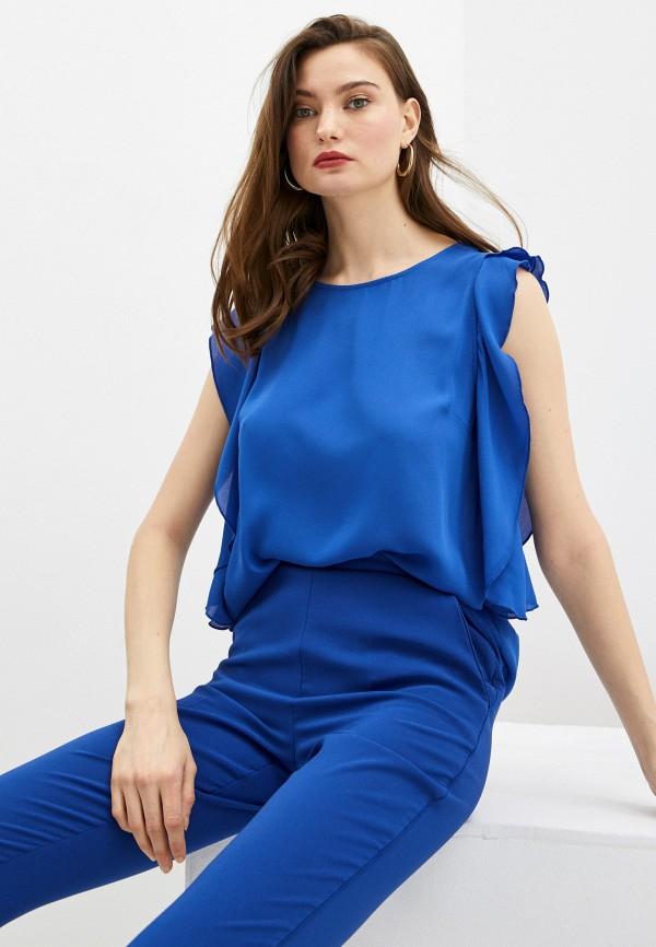 женский топ trussardi, синий