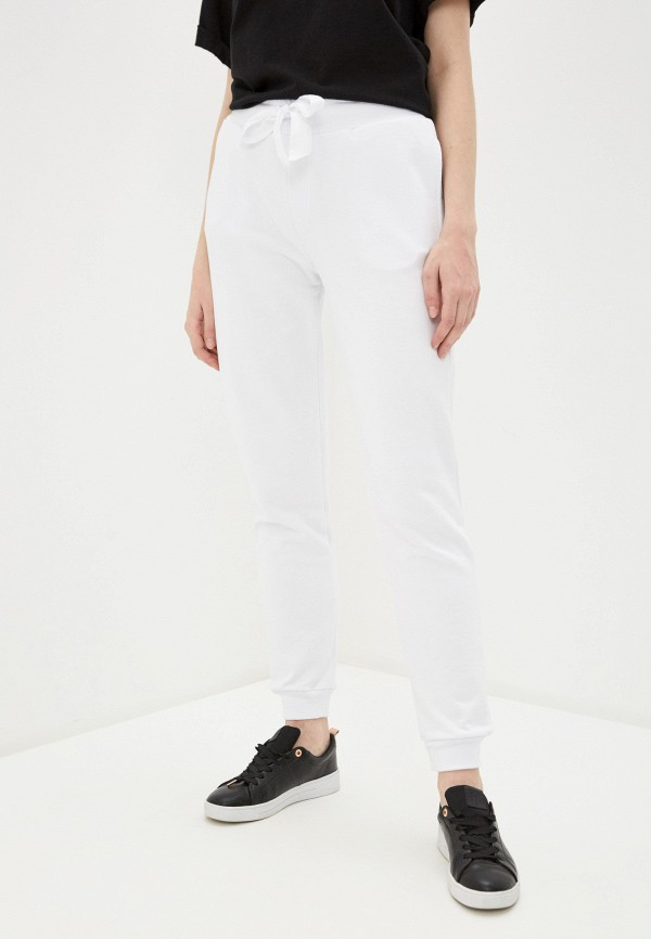 женские спортивные брюки trussardi, белые