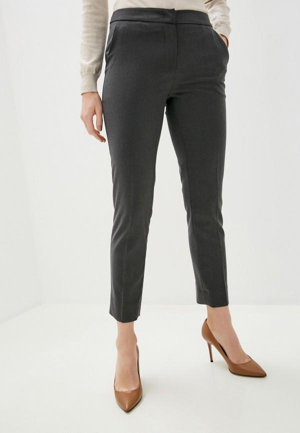 женские повседневные брюки trussardi, серые