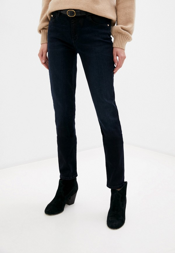 женские джинсы trussardi, синие