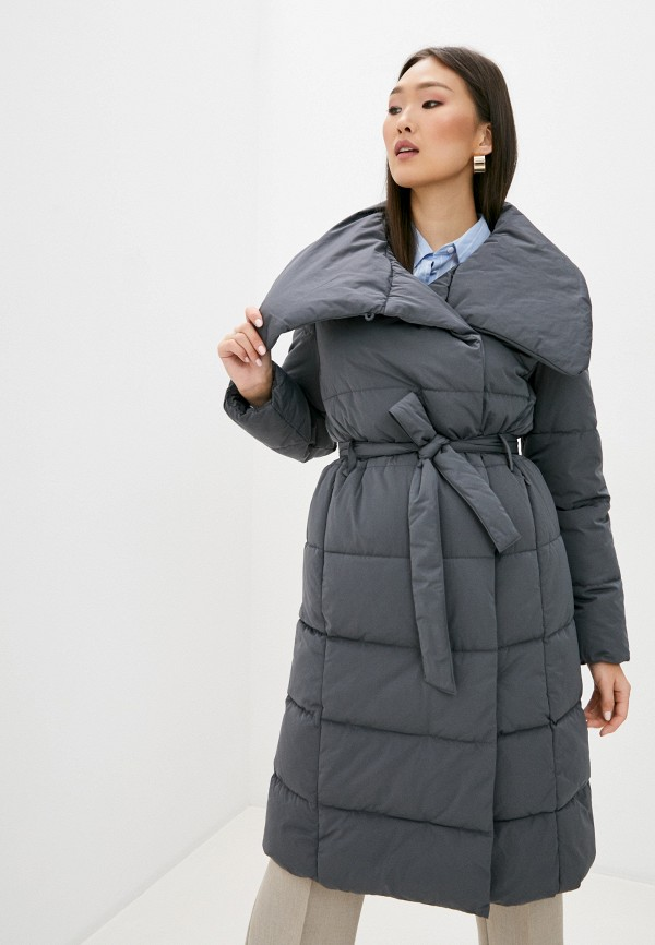 женская куртка trussardi, серая