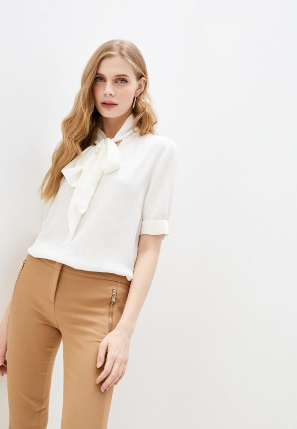 женская блузка trussardi, белая