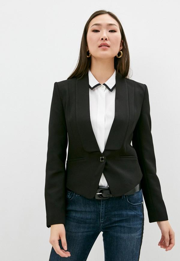 женский жакет trussardi, черный