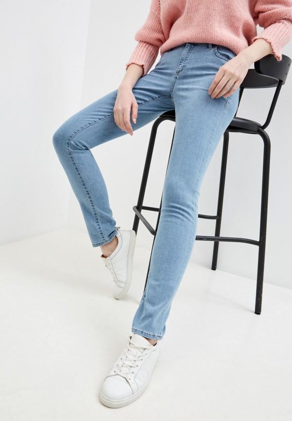 женские джинсы trussardi, голубые